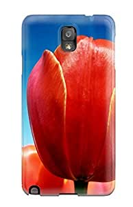 New Arrival Case Cover With TxWBjxv7939auwdc Design For Galaxy Note 3- Tulips