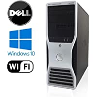 Dell Precision T3500 Workstation - Intel Xeon 3.06GHz Quad Core - 8GB DDR3 RAM - NEW 1TB HDD - Dual Video Out - WiFi - DVD/CD-RW - Windows 10 Pro 64-Bit (Prepared by ReCircuit)