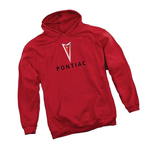 Grand Prix Hooded Sweatshirt - Centered Arrowhead -- Pontiac Adult Hoodie Sweatshirt, XXX-Large