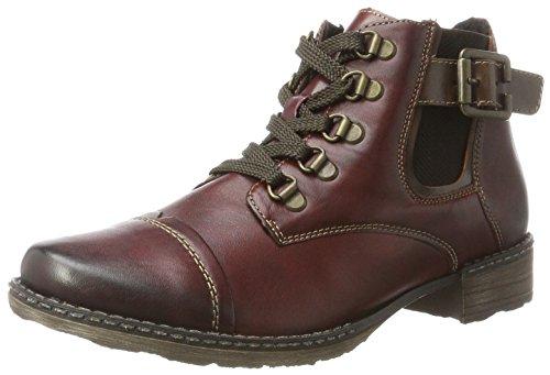 UK Medoc Boots Remonte 35 4 Women's D4393 Chukka Medoc Kastanie Brown Red Z88Un6CW