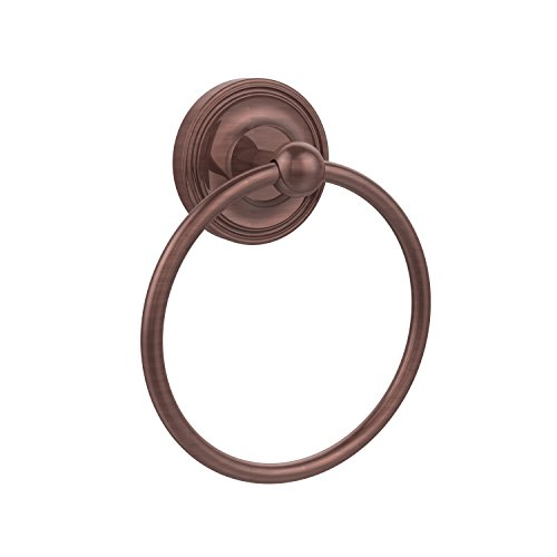 Allied Brass R-16-CA Regal Collection Towel Ring, Antique Copper Allied Copper Towel Ring