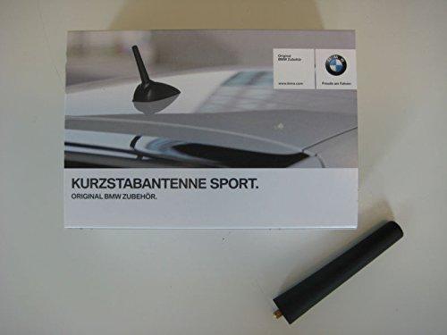 65202296761 Sport-Antenne f/ür Radio und Telefonsystem 105mm