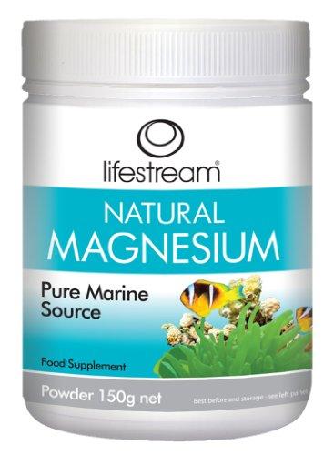 Lifestream Natural Magnesium (Pure Marine Source) Powder 150g