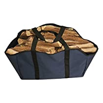 Premium Firewood Log Carrier & Tote Bag - Extra Large Durable -- Best for Fireplaces - Wood Stoves - Firewood - Logs - Camping - Beaches - Landscaping