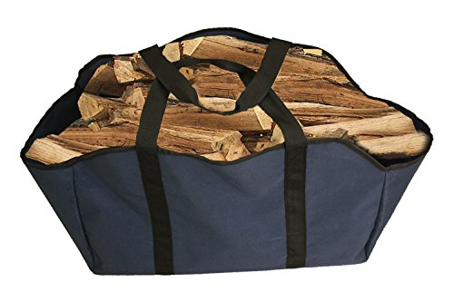 Premium Firewood Log Carrier & Tote Bag - Extra Large Durable -- Best for Fireplaces - Wood Stoves - Firewood - Logs - Camping - Beaches - Landscaping - Compact Laundry Stacking Kit