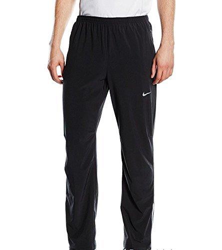 Nike Men's Team Woven Pants Black/Grey Training Sweatpants (Large) ()
