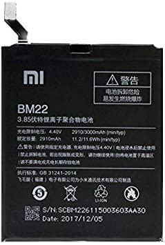 Bateria de repuesto para Xiaomi Mi5 BM22 2910mAh