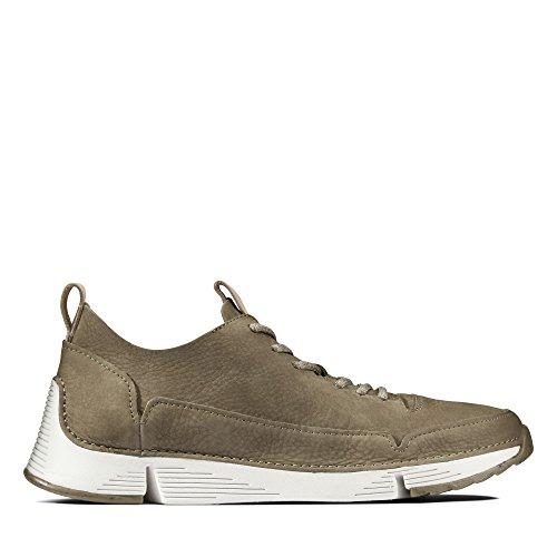 Clarks Men's Tri Spark Low-Top Sneakers Green (Khaki -) exclusive sale online rOPRDwr