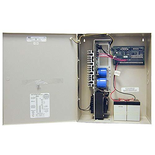 Securitron BPSM-24-10 Power Supply W/Mon 10 Amp 24Vdc, Satin - Monitor Supply Securitron Power
