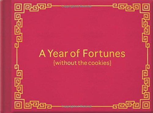 Knock Knock A Year of Fortunes (Without the Cookies) -