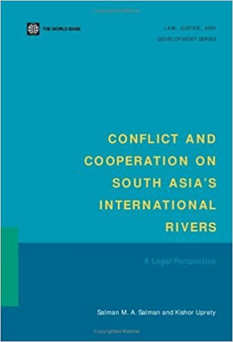 Conflict and Cooperation on South Asia's International Rivers: A Legal Perspective (Law, Justice, and Development Series) by Salman M. A. Salman (2003-01-22)