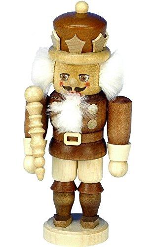 32-600 - Christian Ulbricht Mini Nutcracker - King - 6.75''''H x 3.25''''W x 3''''D
