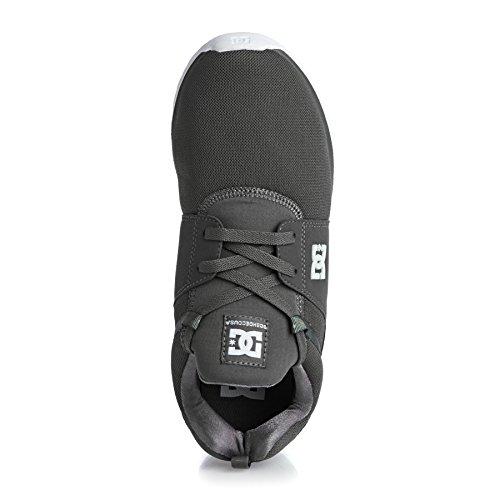DC Shoes Heathrow M Shoe Bkw - Zapatillas para hombre, color negro Marron
