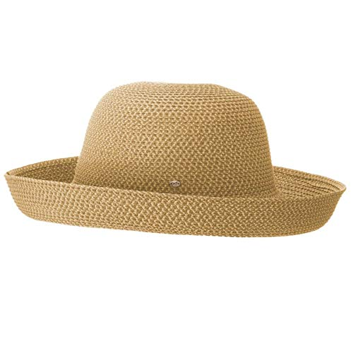 Betmar Women's Classic Roll Up Upturn Brim Hat, Natural, One ()
