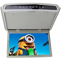 15.6 Inch Flip Down Monitor for Cars Roof Mount Monitor with Wireless Remote ...