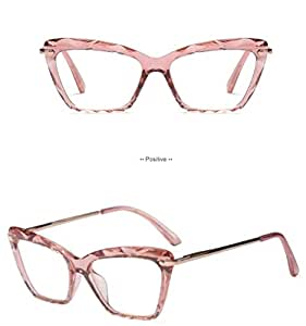 97250839a95ee Amazon.com   2019 STYLE Fashion Square Glasses Frames Women Trending ...