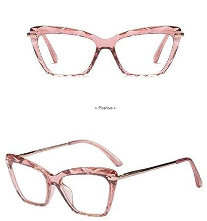 0a070cc59b2 Amazon.com   2019 STYLE Fashion Square Glasses Frames Women Trending Styles  Brand Optical Computer Glasses Oculos De Grau Feminino Armacao C1 Pink ...