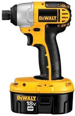 DeWalt 1/4 inch (6.35mm) 18V Cordless Impact Driver Kit Heavy-Duty Cordless Impact Driver Kit