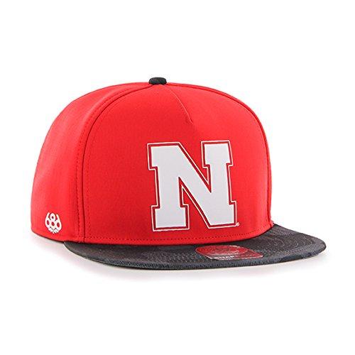 686x47 NCAA Nebraska Cornhuskers Crispy Snapback Cap, One Si