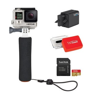GoPro HERO4 Black Bundle -CHDCA-401