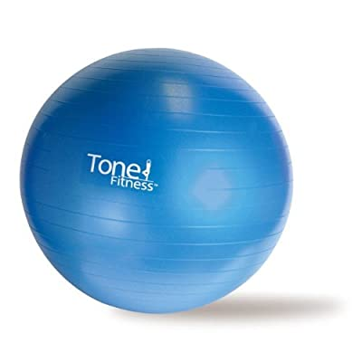 Tone Fitness Anti Burst Home Gym Exercise Stability Equipment Ball Accessories- 65cm