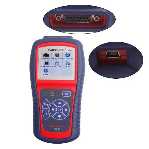 Luketech(TM) Original Autel AutoLink AL419 OBDII and CAN Scan Tool