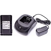 Maxtop C1B1C0005 Battery Charger Bundle Package with 1 PCS 2000 mAH BP-230 Battery for ICOM