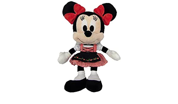 Amazon.com: Nicotoy - Peluche - Mickey Mouse - Minnie Bavière 25cm - 5413538785106: Toys & Games