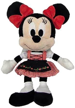 SIMBA 6315878510 - Peluche Minnie con vestido bávaro