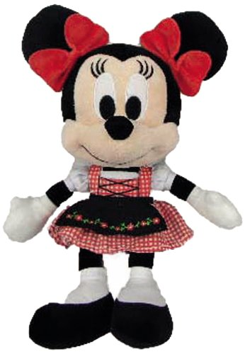 Nicotoy - Peluche - Mickey Mouse - Minnie Bavière 25cm - 5413538785106