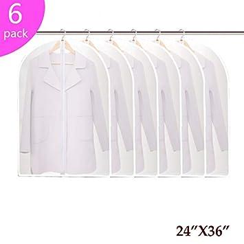 Amazon.com: Hauserlin - Bolsas de ropa de polietileno, 1 ...