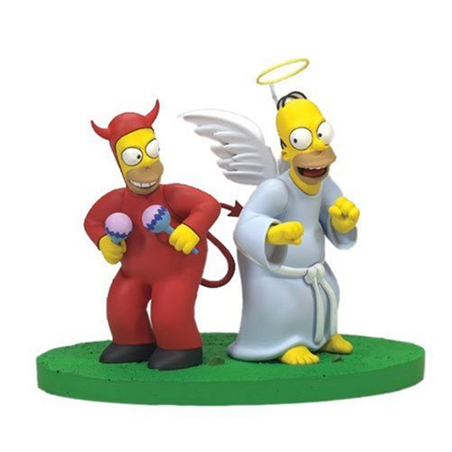 McFarlane: Simpsons Series 2 - Good/Evil Homer