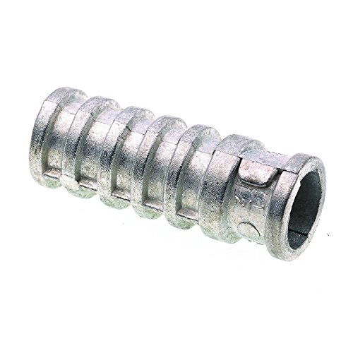 Prime-Line 9071648 Lag Shield Anchor, 1/2 in X 2 in, Zinc, Pack of (Anchor Lag Shields)
