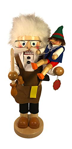 Steinbach German Nutcracker Geppetto Pinocchio-Limited Edition