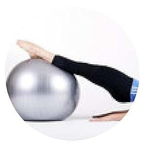 alfombrilla de ratón Pilates - ronda - 20cm