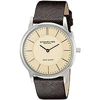 Men's 238.321K43 Ascot Newberry Analog Swiss Quartz Brown Leather Watch
