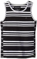Calvin Klein Little Boys' Polarized Stripe Tank