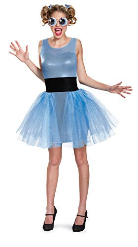Pair Halloween Costumes 2016 (Disguise Women's Bubbles Deluxe Adult Costume, Blue, Medium)