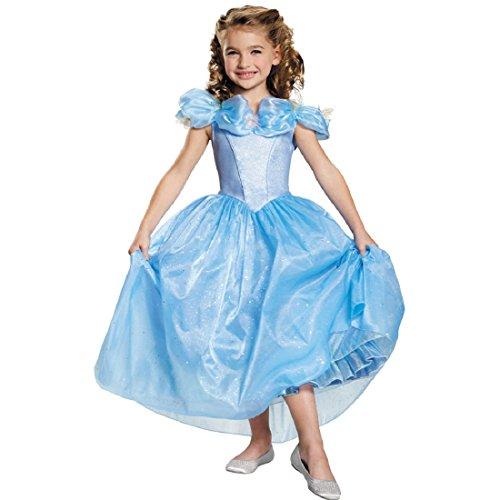 Disguise Cinderella Movie Prestige Costume, X-Small (Cinderella Girls Dresses)