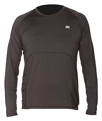 Mobile Warming Unisex-Adult Longman Heated 7.4v Shirt (Black, Large) by Mobile Warming (Image #1)