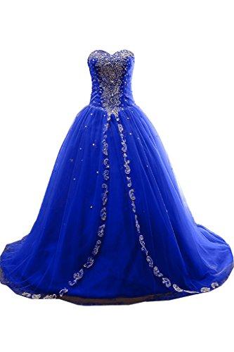 Missdressy -  Vestito  - Senza spalline - Donna blu royal 44