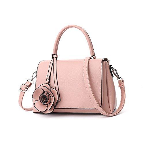 Sac De Nouveau Fleur GWQGZ De À À Mode Dames Noir Mode Main Pink Bandoulière Sac YWqfgP