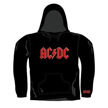 Sudadera con Capucha AC/DC Motivo: Red Logo: Amazon.es: Deportes y aire libre