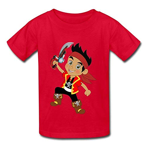Herocoat Sport Jake and The Neverland Pirates Children Boys Girls T Shirt ()