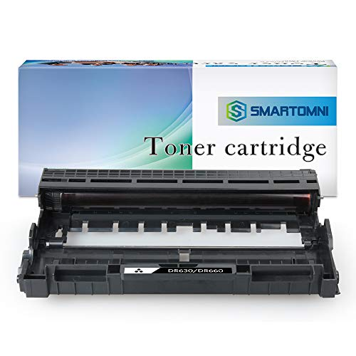 S SMARTOMNI Compatible Drum Unit Replacement for Brother DR630 (1-Pack High Yield) Compatible use with Brother HL-L2340DW HL-L2360DW Brother HL-L2380DW Brother MFC-L2700DW MFC-L2740DW Printer