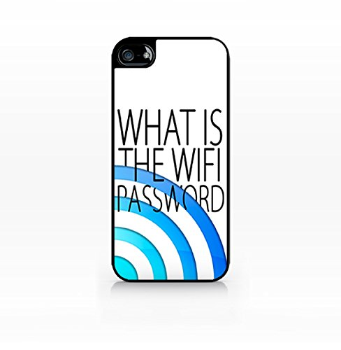 Cream Cookies - Typography Pattern Case - What is the Wifi Password - Apple iPhone 5C Case - Apple iPhone 5CS Case - TPU Case - Hard Rubber Case