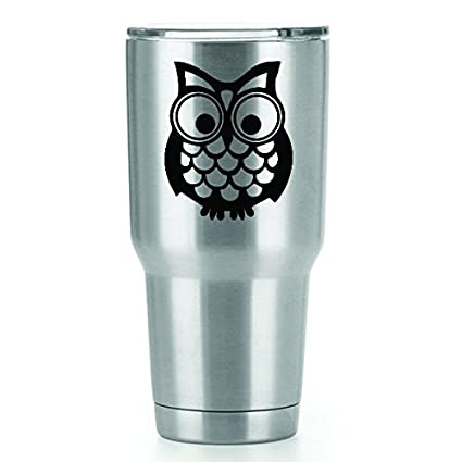 0468d48e113 Amazon.com: Cute Owl Vinyl Decals Stickers (2 Pack!!!) | Yeti ...