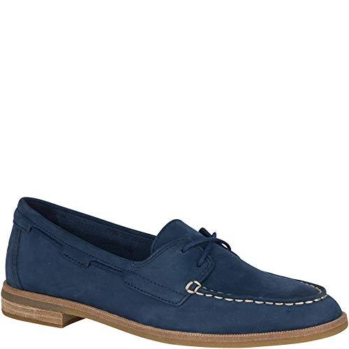 Image of Sperry Women's Seaport Boat Shoe, Navy, 6.5 M US