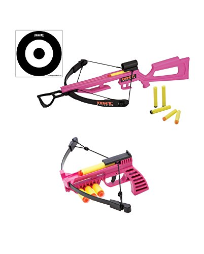 NXT Generation Girls's Toy Crossbow and Mini Crossbow Combo Set - Pink by Nxt Generation