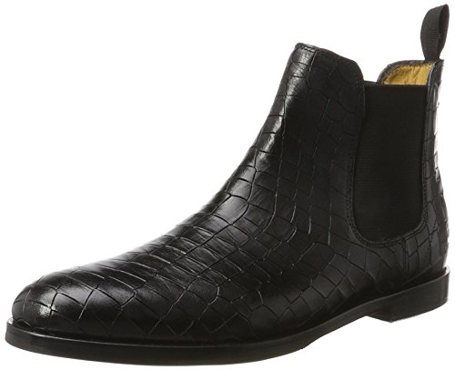 BlackElaBlkHrs Hrs Noircrock Melvinamp; Crock Hamilton 10 Susan Femme aChelsea Boots OZTPXiwku